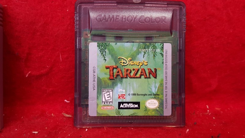 NINTENDO Nintendo GBA Game DISNEY'S TARZAN