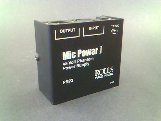 ROLLS PB23 PHANTOM MIC POWER I