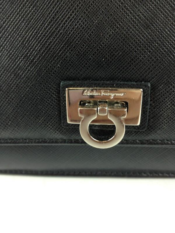 SALVATORE FERRAGAMO Handbag MINI LEATHER SHOULDER BAG