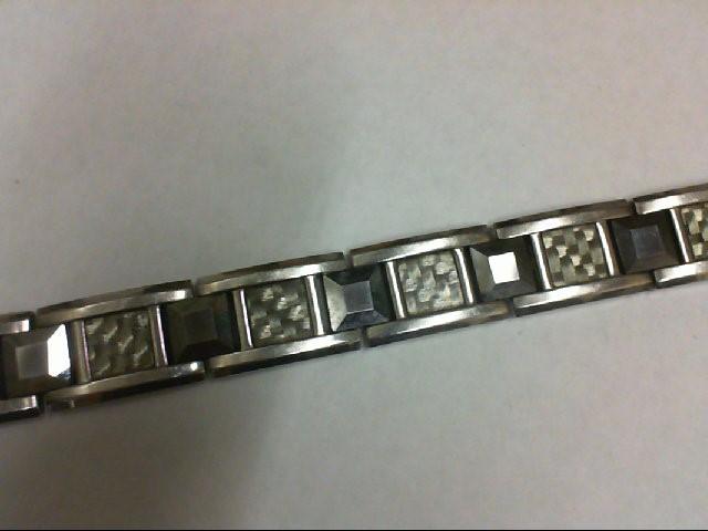 Bracelet Black Stainless 61.6g
