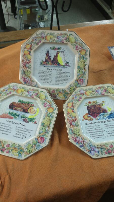 MISC COLLECTIBLES MISC USED MERCH MISC USED MERCH AVON; RECIPE PLATE