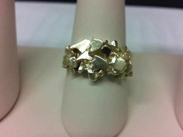 Gent's Gold Ring 14K Yellow Gold 12g Size:11