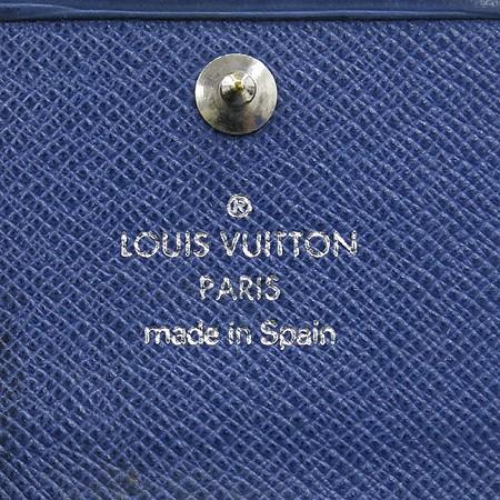 LOUIS VUITTON BLUE EPI KEY HOLDER