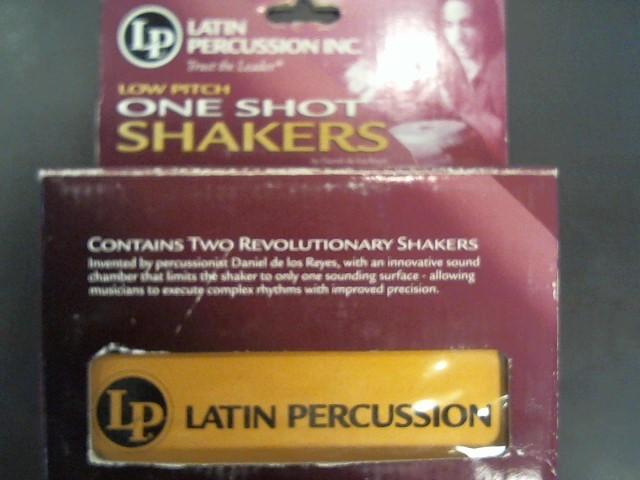 LP ONE SHOT SHAKER LARGE M\LP442B