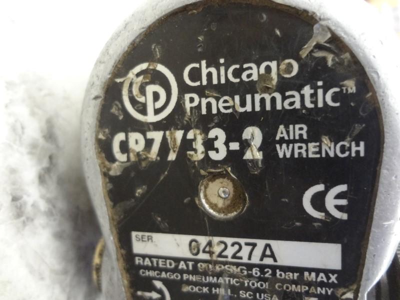 "CHICAGO PNEUMATIC CP7733-2 1/2"" HEAVY DUTY AIR IMPACT"