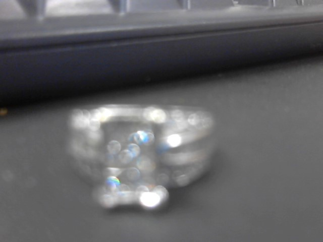 Lady's Diamond Wedding Band 52 Diamonds 2.18 Carat T.W. 14K White Gold 9.6g