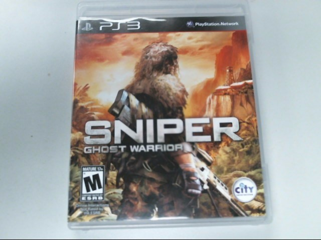 SONY Sony PlayStation 3 Game SNIPER GHOST WARRIOR
