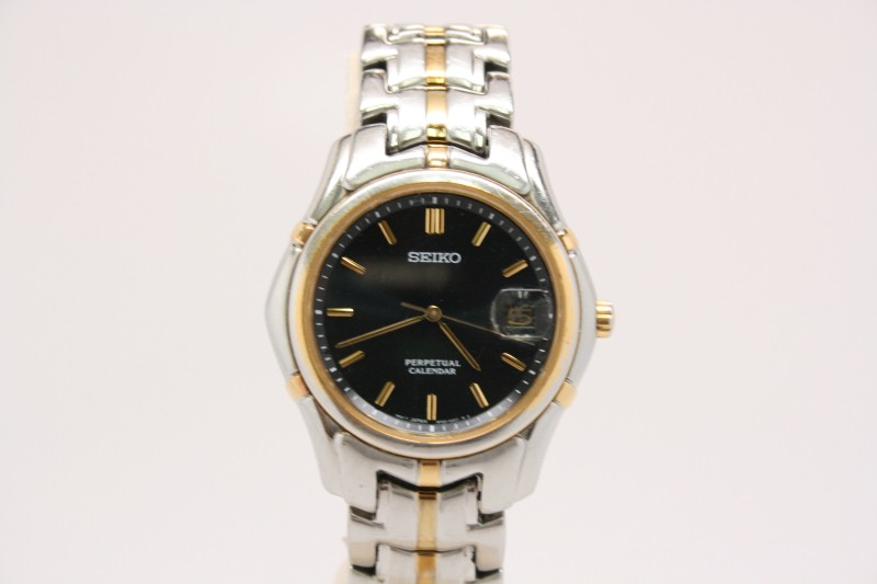 SEIKO GENTS WATCH SLL001 PERPETUAL CALENDER