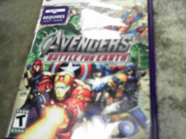 MICROSOFT Microsoft XBOX 360 MARVEL THE AVENGERS BATTLE FOR EARTH