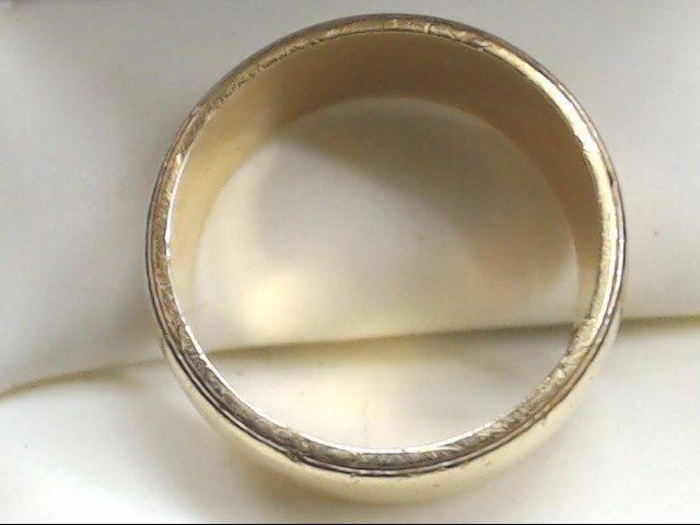 Lady's Gold Wedding Band 14K Yellow Gold 7.8g Size:7
