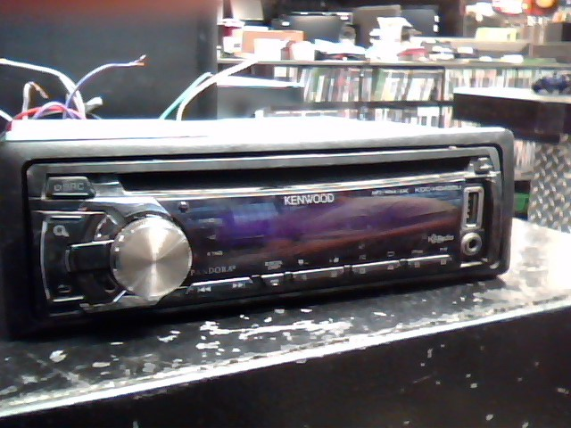 KENWOOD Car Audio KDC-HD455U