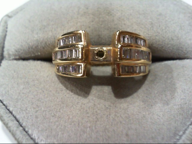 Lady's Diamond Engagement Ring 46 Diamonds .92 Carat T.W. 14K Yellow Gold 7.2g