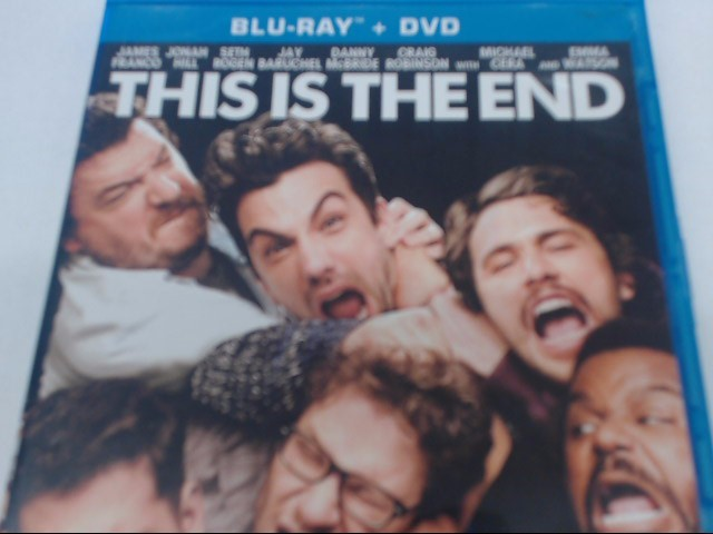 THIS IS THE END - BLU-RAY MOVIE
