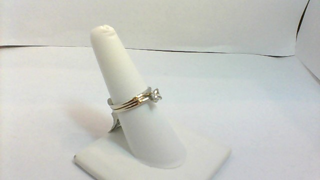 Lady's Diamond Wedding Set .43 CT. 14K Yellow Gold 3.9g