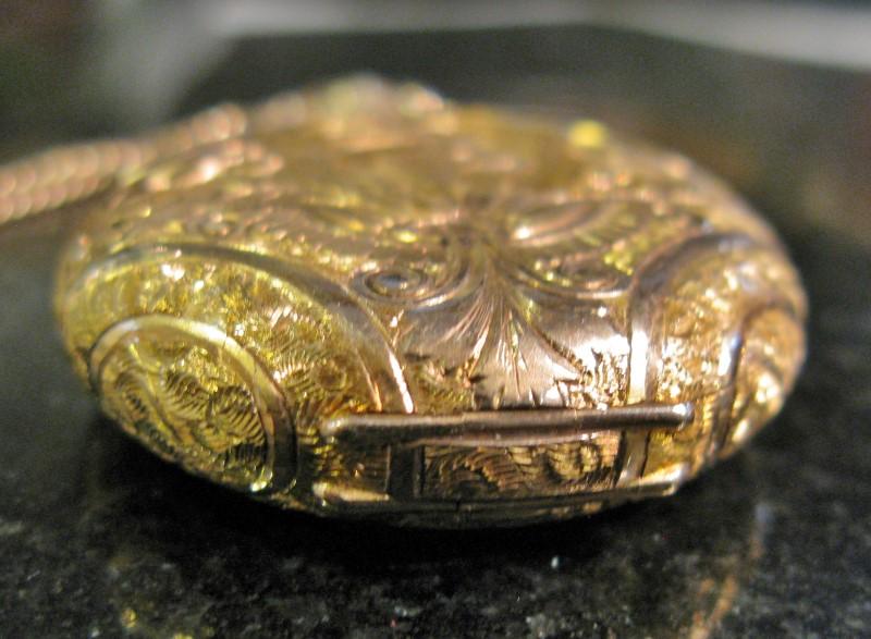 Lady's WALTHAM 1907 Pocket Watch14K Yellow Gold Solidarity Full Hunter Case