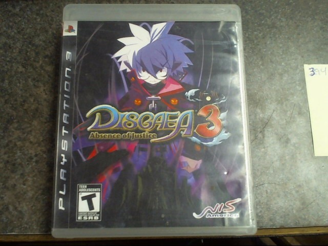 SONY Sony PlayStation 3 Game DISGAEA 3 - ABSENCE OF JUSTICE