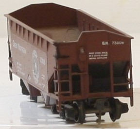 ATHEARN 5405 34 FT O/S HOPPER GREAT NORTHERN #73608 HO