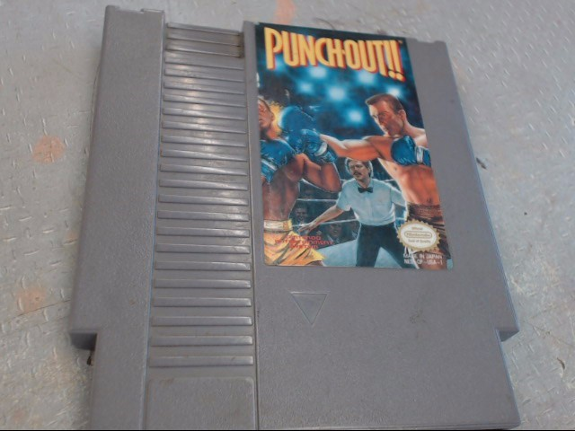 PUNCH OUT!! NINTENDO NES GAME