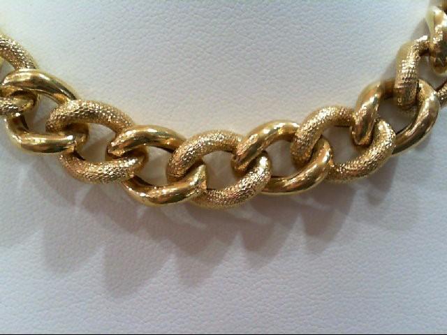 "18"" Gold Fashion Chain 14K Yellow Gold 30.4g"