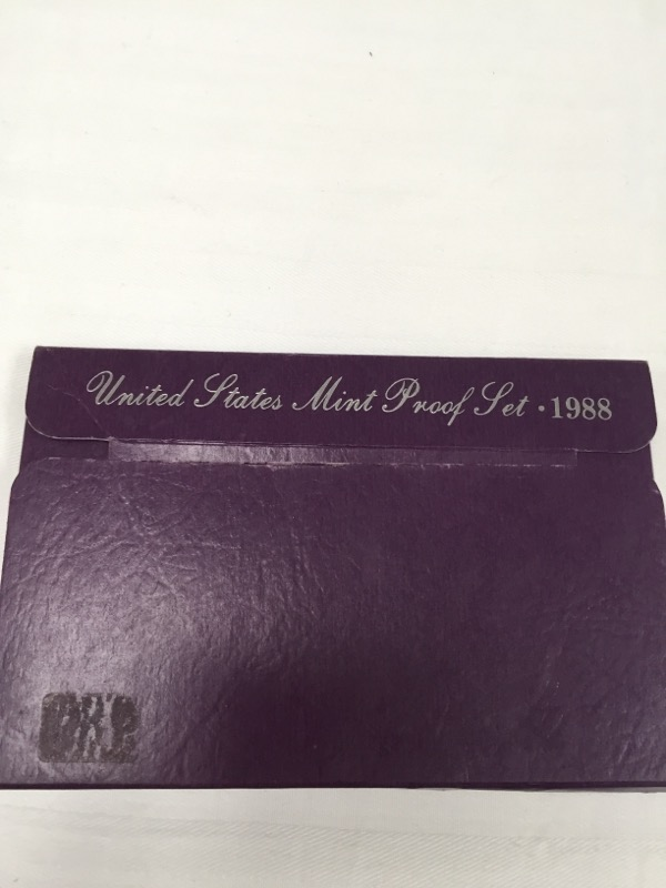UNITED STATES 1988 S PROOF SET