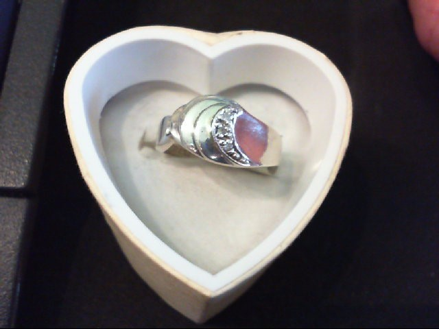 Lady's Silver Ring 925 Silver 3.5g