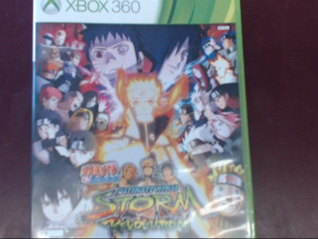 XBOX 360 ULTIMATE NINJA STORM REVOLUTION