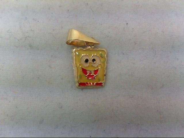 Gold Charm 14K Yellow Gold 0.2g