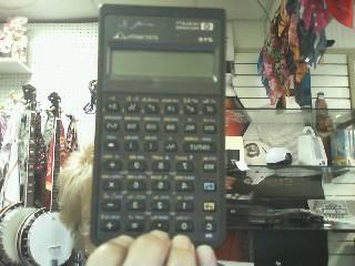 HP STAT MATH CALCULATOR