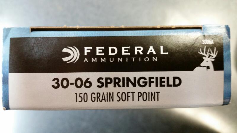 FEDERAL AMMUNITION Ammunition 3006A
