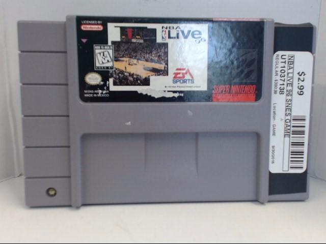 SNES NBA LIVE 96