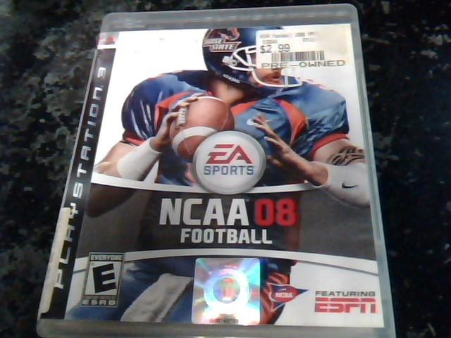 SONY Sony PlayStation 3 Game NCAA 08 FOOTBALL