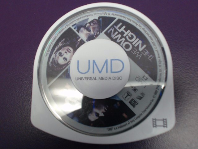 WE OWN THE NIGHT UMD FOR SONY PSP