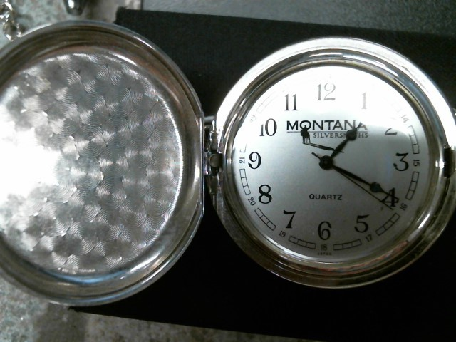 MONTANA SILVERSMITHS Pocket Watch NONE-POCKETWATCH