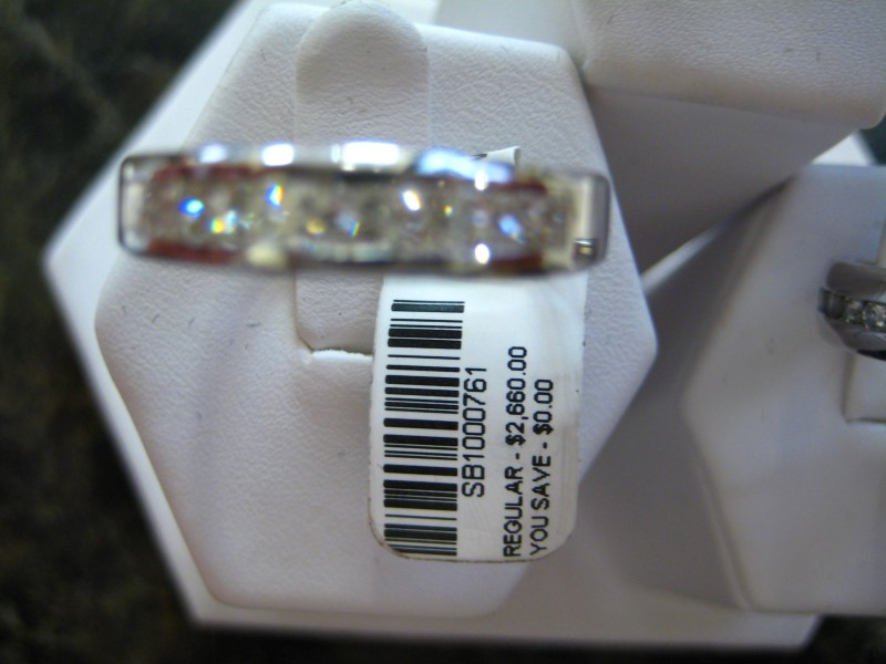 Gent's Gold Wedding Band 14K White Gold 5.66g