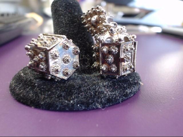 Silver Earrings 925 Silver 8.85g