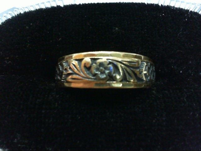 Lady's Gold Ring 14K Yellow Gold 4.3g