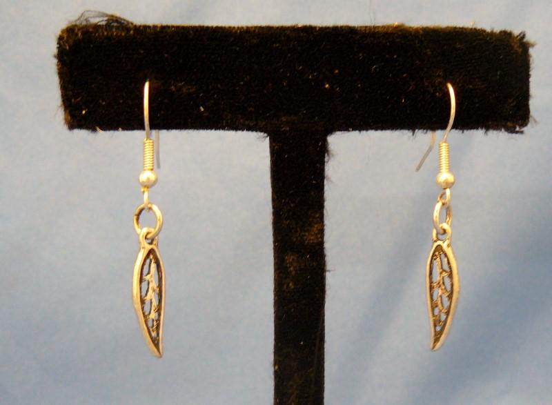 Silver Earrings 925 Silver 1.2dwt