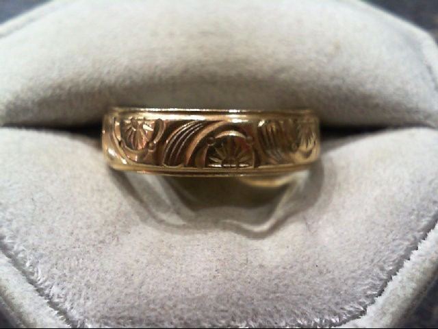 Gent's Gold Ring 14K Yellow Gold 5.2g Size:9.4