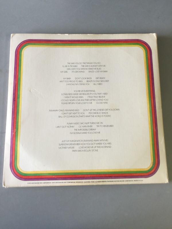 THE TEMPTATIONS ANTHOLOGY VINYL RECORD COMBO SET