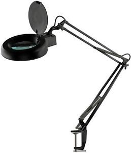 "SONA ENTERPRISES MC329B-FX2 5"" MAGNIFIER TABLE LAMP"