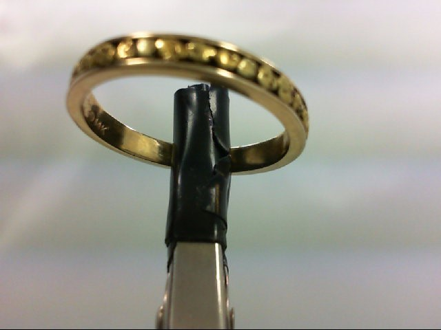 Lady's Gold Ring 14K Yellow Gold 3.2g Size:6.5