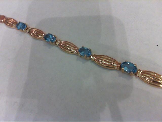 Gold Fashion Bracelet 10K Yellow Gold 4.7g