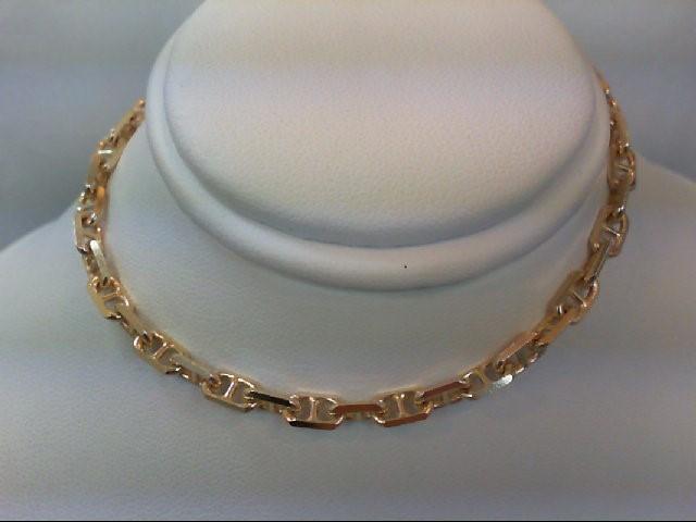 Gold Link Bracelet 14K Yellow Gold 8.9g