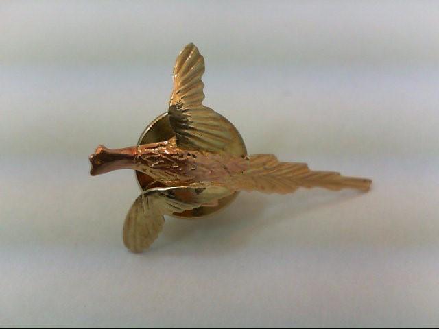 Gold-Misc. 10K Tri-color Gold 0.8g