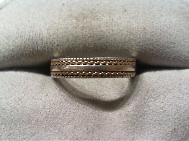 Lady's Silver Wedding Band 925 Silver 2.4g