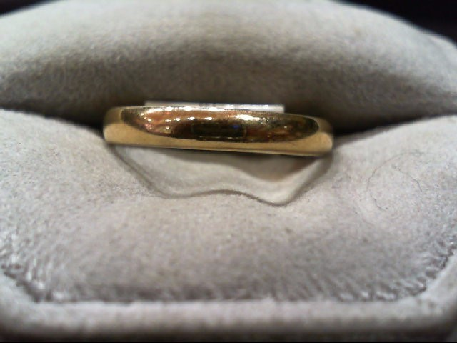 Gent's Gold Wedding Band 14K Yellow Gold 2.6g Size:8.5