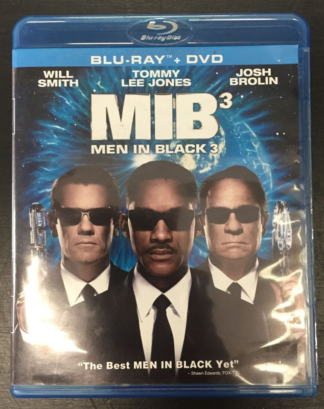 BLU-RAY MOVIE Blu-Ray MIB 3