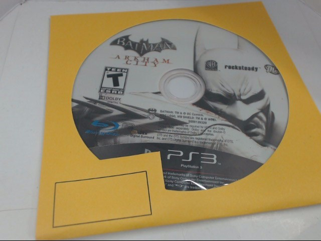 Sony PlayStation 3 Game PS3 BATMAN ARKHAM CITY
