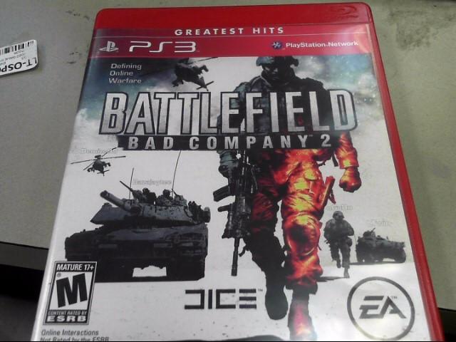 SONY Sony PlayStation 3 BATTLEFIELD BAD COMPANY 2 GREATEST HITS