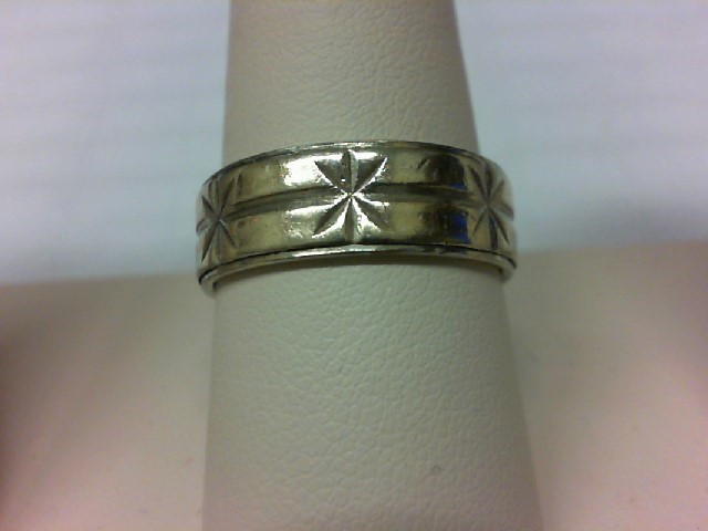 Gent's Gold Ring 14K 2 Tone Gold 7.1g Size:10